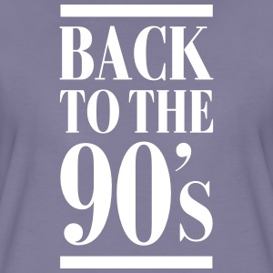 Back To The 90´s Tee shirts - T-shirt Premium Femme