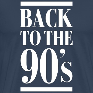 Back To The 90´s T-Shirts - Men's Premium T-Shirt