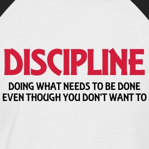 Discipline Tee shirts - T-shirt baseball manches courtes Homme