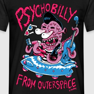 psychobilly from outerspace - Männer T-Shirt