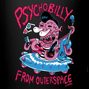 psychobilly from outerspace Bouteilles et Tasses - Tasse en couleur