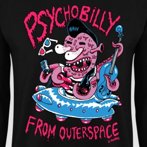 psychobilly from outerspace Sweat-shirts - Sweat-shirt Homme