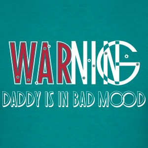 daddy in bad mood_vec_3 en T-Shirts - Men's T-Shirt