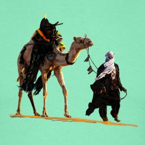 bedouin with camel T-Shirts - Men's T-Shirt