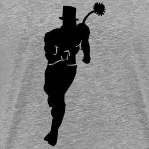 Chimney Sweep (Sihouette) T-shirts - Herre premium T-shirt