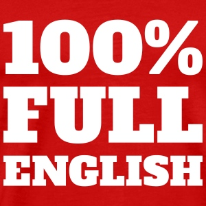 100% Full English - Men's t-shirt - Men's Premium T-Shirt