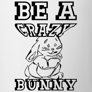 Crazy Bunny Mugs & Drinkware - Mug