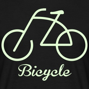 Bicycle rider Tee shirts - T-shirt Homme