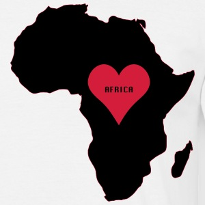 africa love t-shirt - Men's T-Shirt