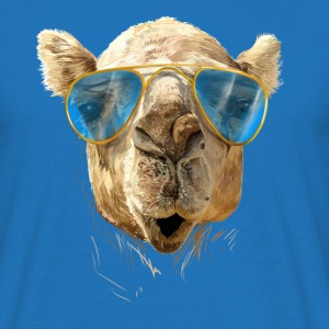 Camel with sunglasses Tee shirts - T-shirt Homme