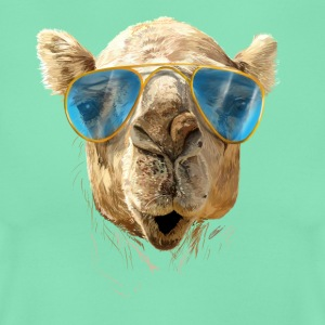 Camel with sunglasses T-shirts - Vrouwen T-shirt