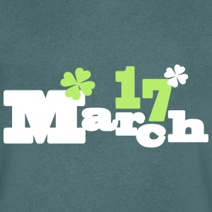 March 17 lucky charms Men's V-Neck T-Shirt - Men's V-Neck T-Shirt