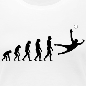 Evolution Football #7 - Save - Ladies t-shirt - Women's Premium T-Shirt