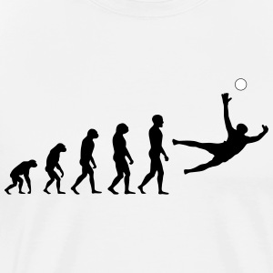 Evolution Football #7 - Save - Men's t-shirt - Men's Premium T-Shirt