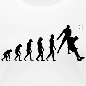 Evolution Football #8 - Header - Ladies t-shirt - Women's Premium T-Shirt