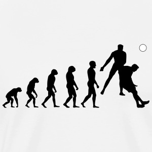 Evolution Football #8 - Header - Men's t-shirt - Men's Premium T-Shirt