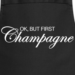 Ok, But First Champagne Tabliers - Tablier de cuisine