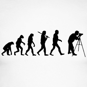 Evolution of photography Langarmshirts - Männer Baseballshirt langarm