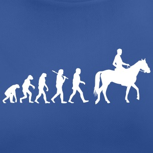 Evolution of horse riding T-Shirts - Frauen T-Shirt atmungsaktiv