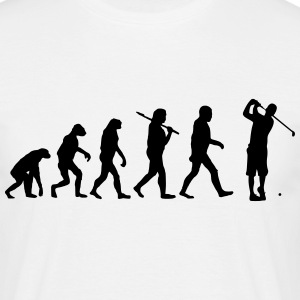 Evolution of golf T-Shirts - Männer T-Shirt