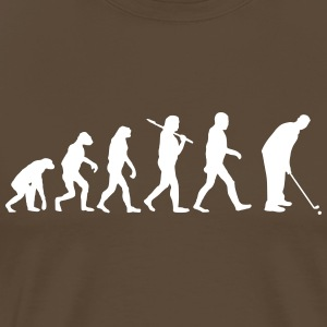 Evolution of golf T-Shirts - Männer Premium T-Shirt