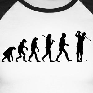 Evolution of golf Langarmshirts - Männer Baseballshirt langarm