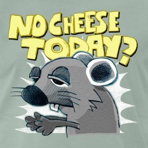 no cheese today - Männer Premium T-Shirt