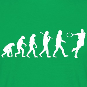 Evolution of tennis T-Shirts - Männer T-Shirt