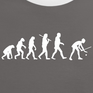 Evolution of tennis T-Shirts - Frauen Kontrast-T-Shirt
