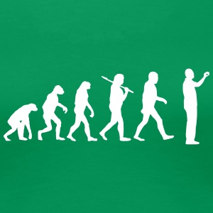 evolution of  T-Shirts - Frauen Premium T-Shirt