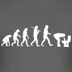 evolution of kotzen T-Shirts - Männer Slim Fit T-Shirt