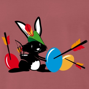 Easter bunny with a bow and arrow T-Shirts - Men's Premium T-Shirt