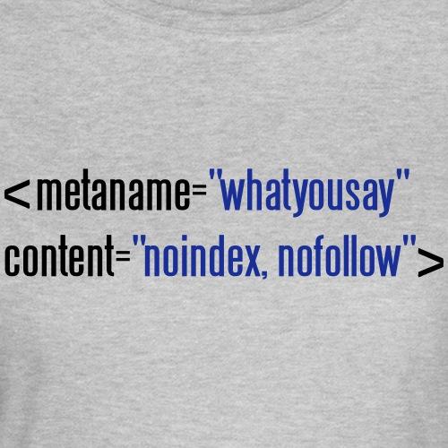 html nofollow