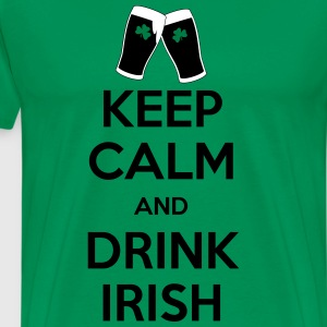 keep calm irish T-Shirts - Männer Premium T-Shirt