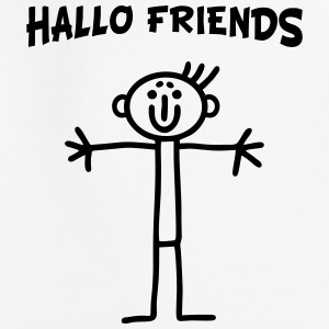 Stick figure - Hallo Friends Hoodies - Kids' Premium Hoodie