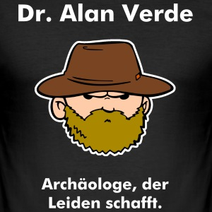 Dr. Alan Verde T-Shirts - Männer Slim Fit T-Shirt