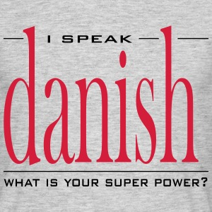 Super Power Danish - Männer T-Shirt