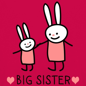 big sister (rabbits) Long Sleeve Shirts - Kids' Premium Longsleeve Shirt
