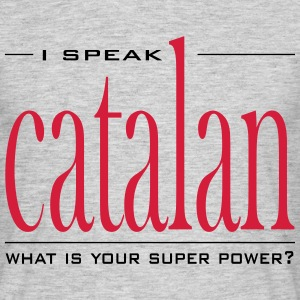 Super Power Catalan - Camiseta hombre
