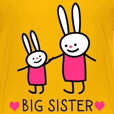 big sister (rabbits) Camisetas