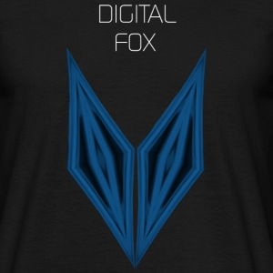 digital fox - Männer T-Shirt