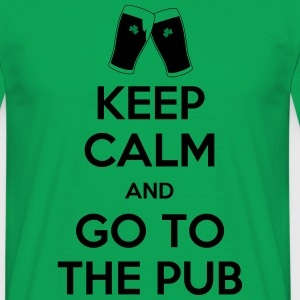keep calm pub T-Shirts - Männer T-Shirt