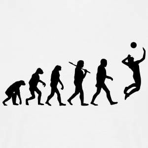 Evolution of Volleyball T-Shirts - Männer T-Shirt
