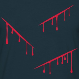 Blood Dripping 1c T-Shirts - Men's T-Shirt