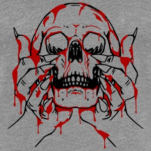 Blood God offering T-Shirts - Women's Premium T-Shirt