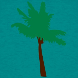 palm vector overzicht T-shirts - Mannen T-shirt