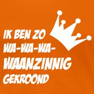Ontwerp ~ Waanzinnig vrouwen shirt voor Koningsdag!