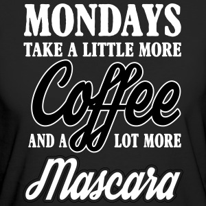 mondays take more coffe and mascara T-skjorter - Økologisk T-skjorte for kvinner