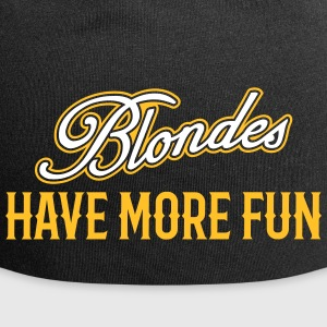 Blondes Have More Fun 3 Caps & Mützen - Jersey-Beanie