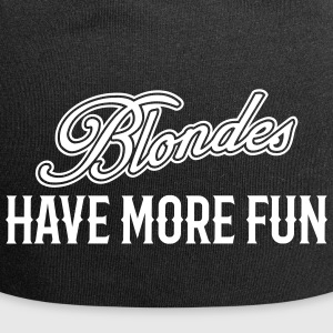 Blondes Have More Fun 1 - Jersey-Beanie